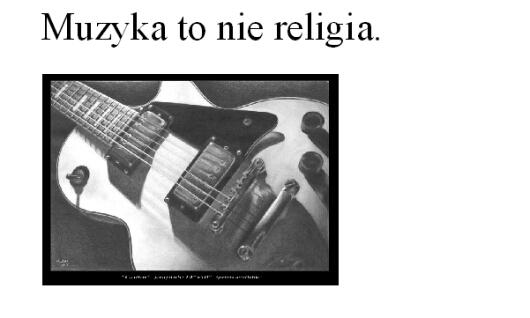 muzyka to nie religia (2)