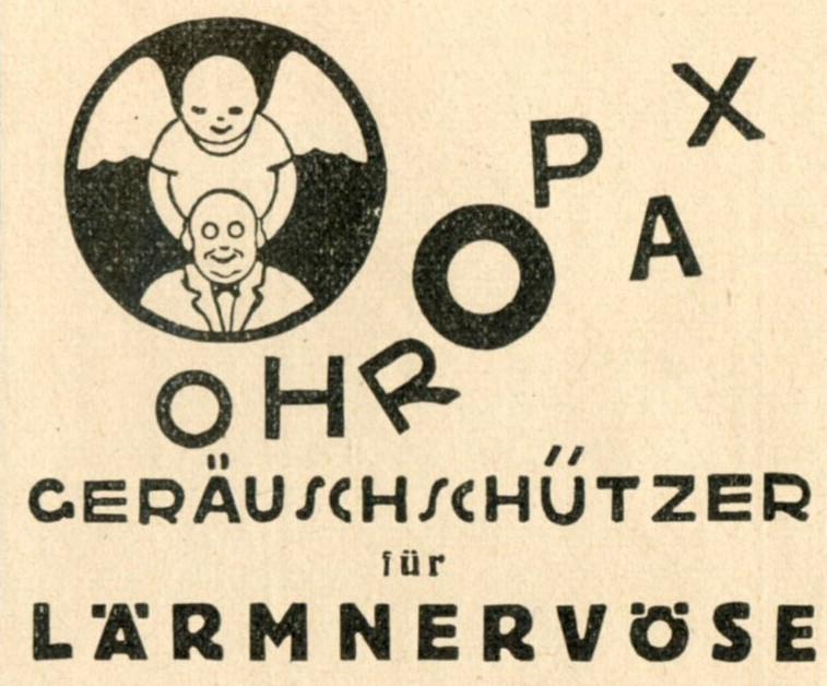 Ohropax (1925)