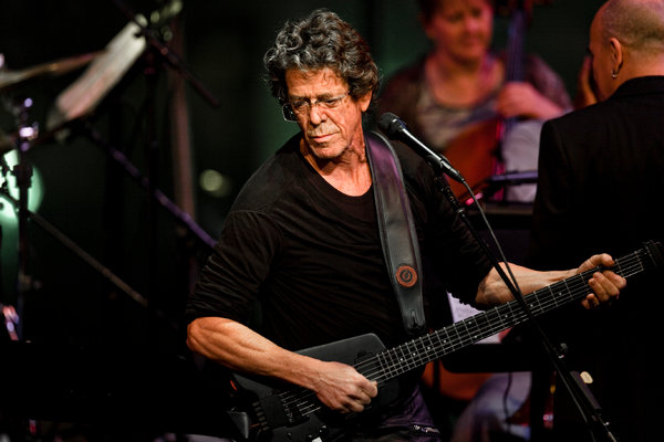 Lou Reed (Chad Batka for The New York Times)
