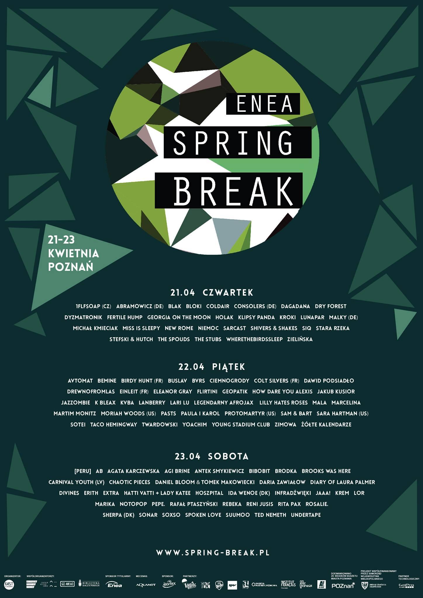 Kogo zobaczę na Spring Breaku