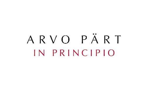 Arvo Pärt - In Principio (ECM, 2009)