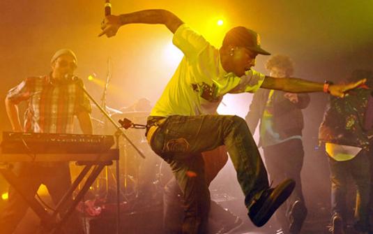Pharrell Williams w akcji