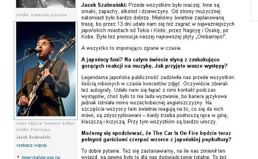 Borys Dejnarowicz jako Jacek Szabrański (źródło: www.rp.pl)