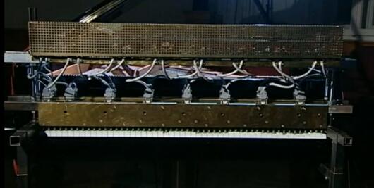 Mówiące pianino Petera Ablingera