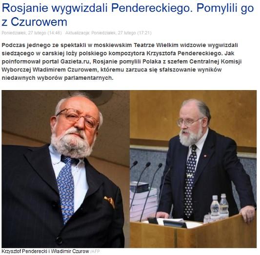 penderecki czurow