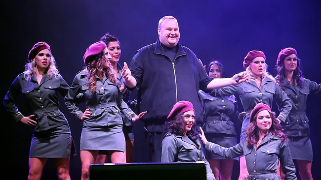 Kim Dotcom - Mega launch