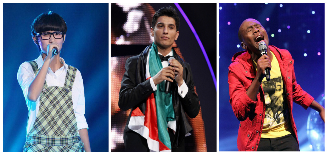 Idols: Khaya Mthethwa, Duan Linxi, Mohammed Assaf