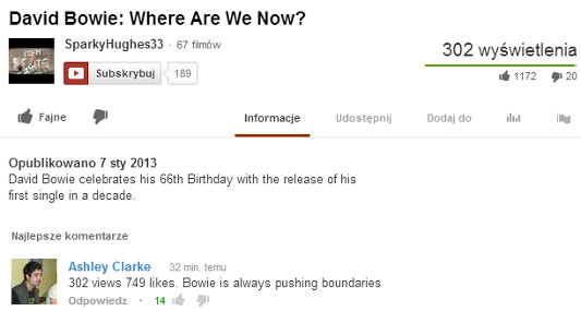 david bowie birthday