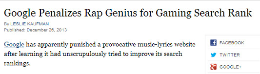 rap genius google