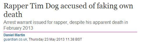 rapper tim dog