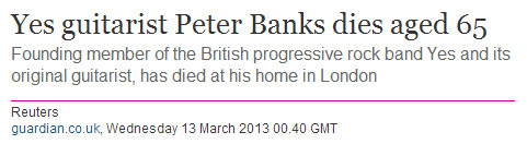 yes peter banks