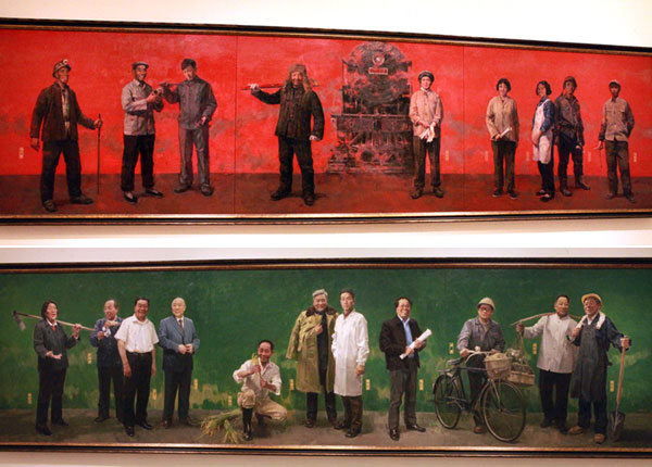 China Paiting May 1st Workers Day